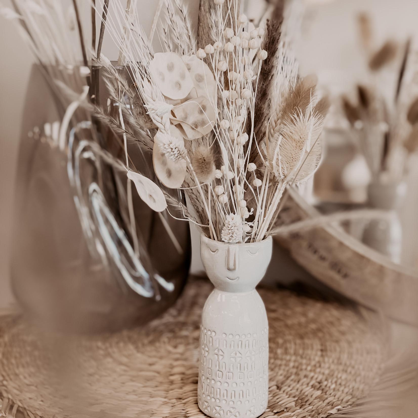 HBX Mini Trockenblumen Bouquet Natur