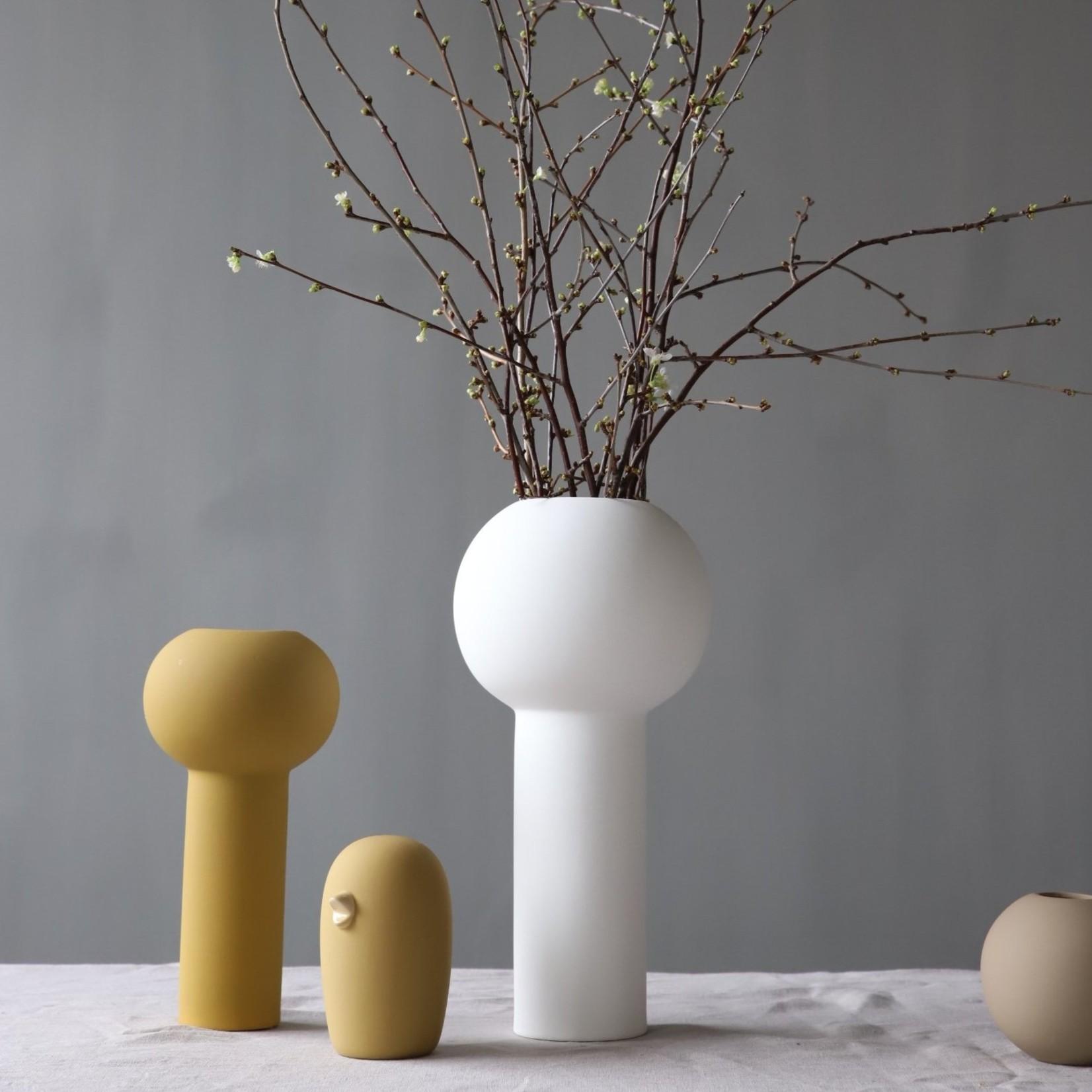 Cooee Design Ceramic Bird 12cm Ochre