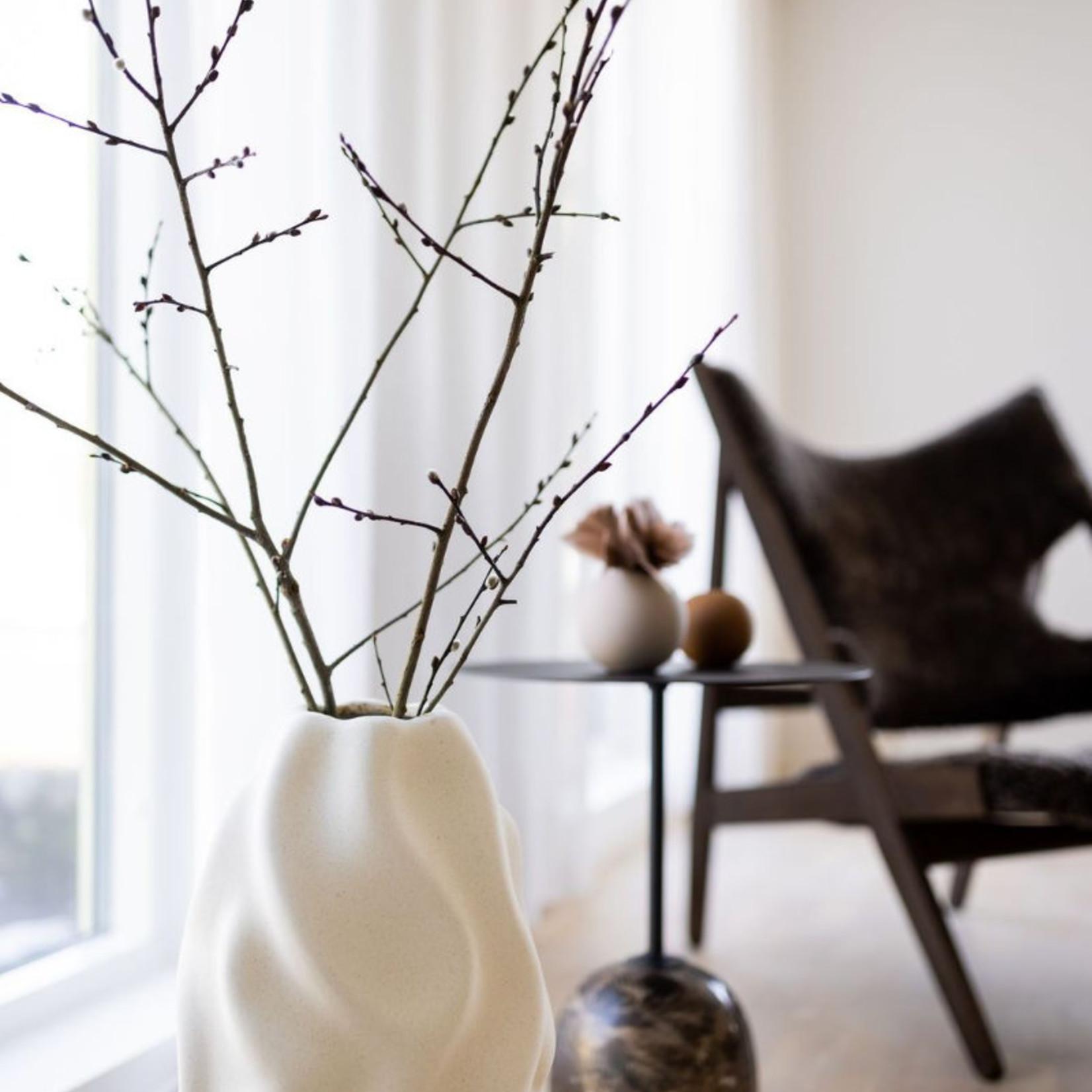 Cooee Design Drift Floor Vase Vanilla