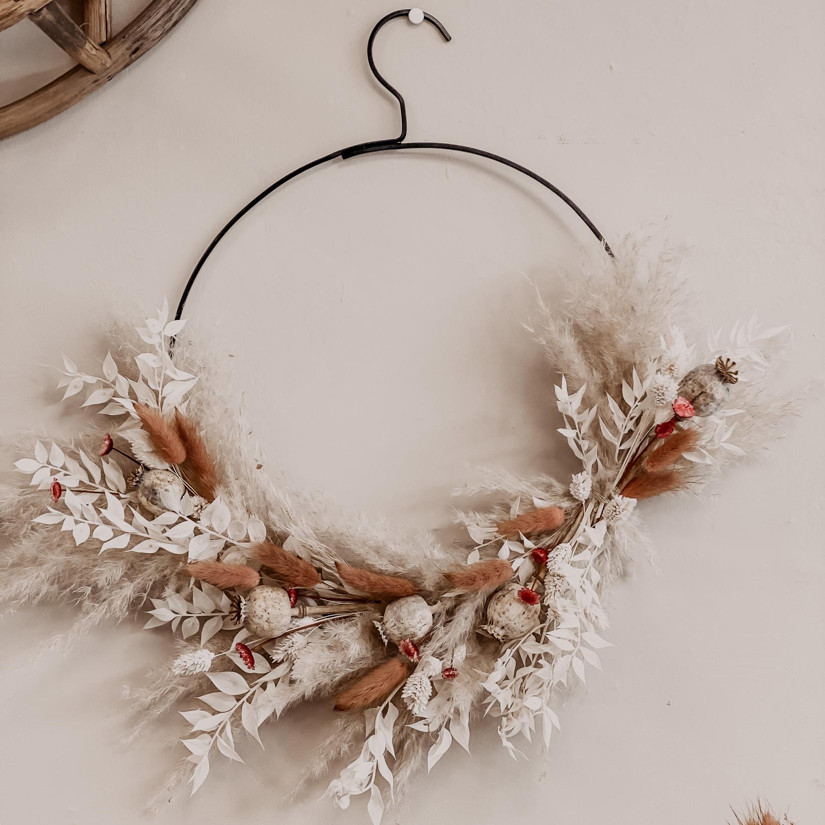 Dried Flower Loop Rose Edition