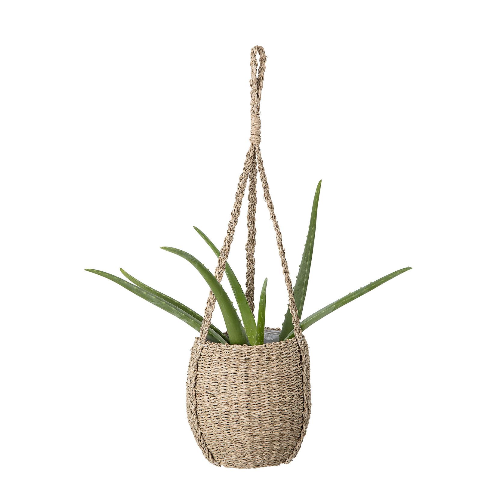 Bloomingville  Rockie Flowerpot, Hanging, Nature, Seagrass