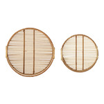 Bloomingville  Salle Tray, Nature, Bamboo
