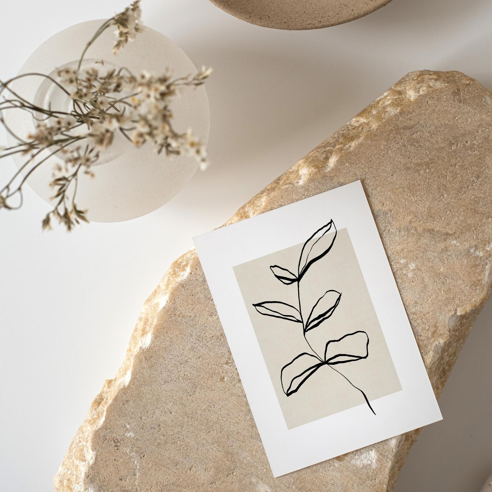 Jacqui Designs  Postkarte Floral in a Box No.1
