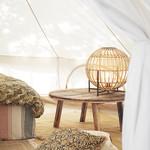 Madam Stoltz Bamboo Table Lamp