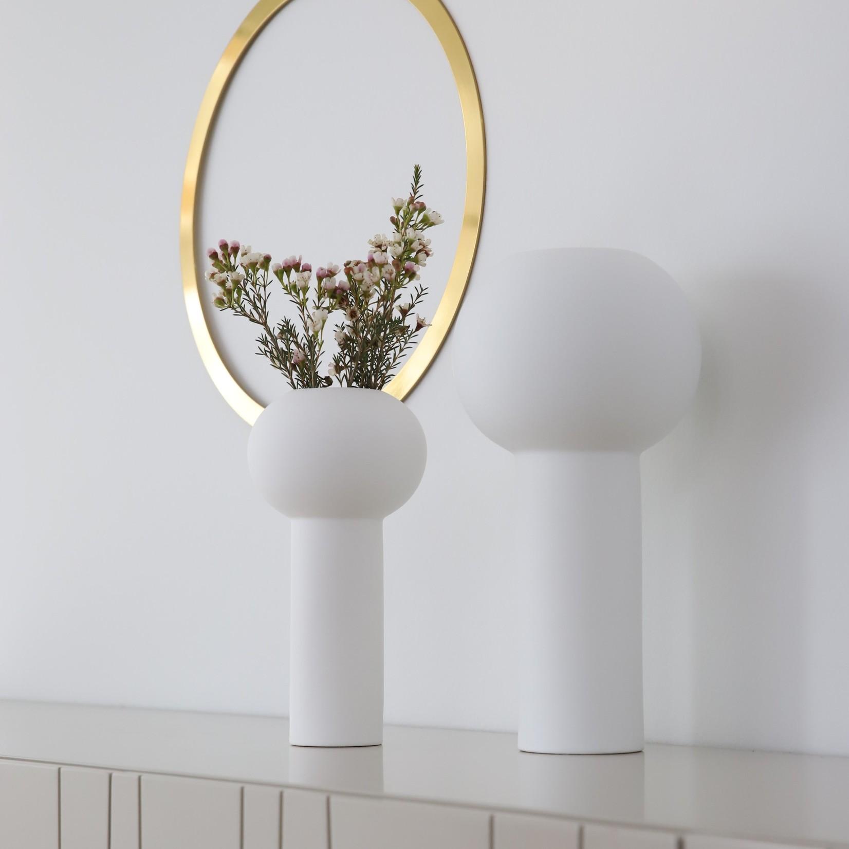 Cooee Design Pillar Vase weiß 24cm