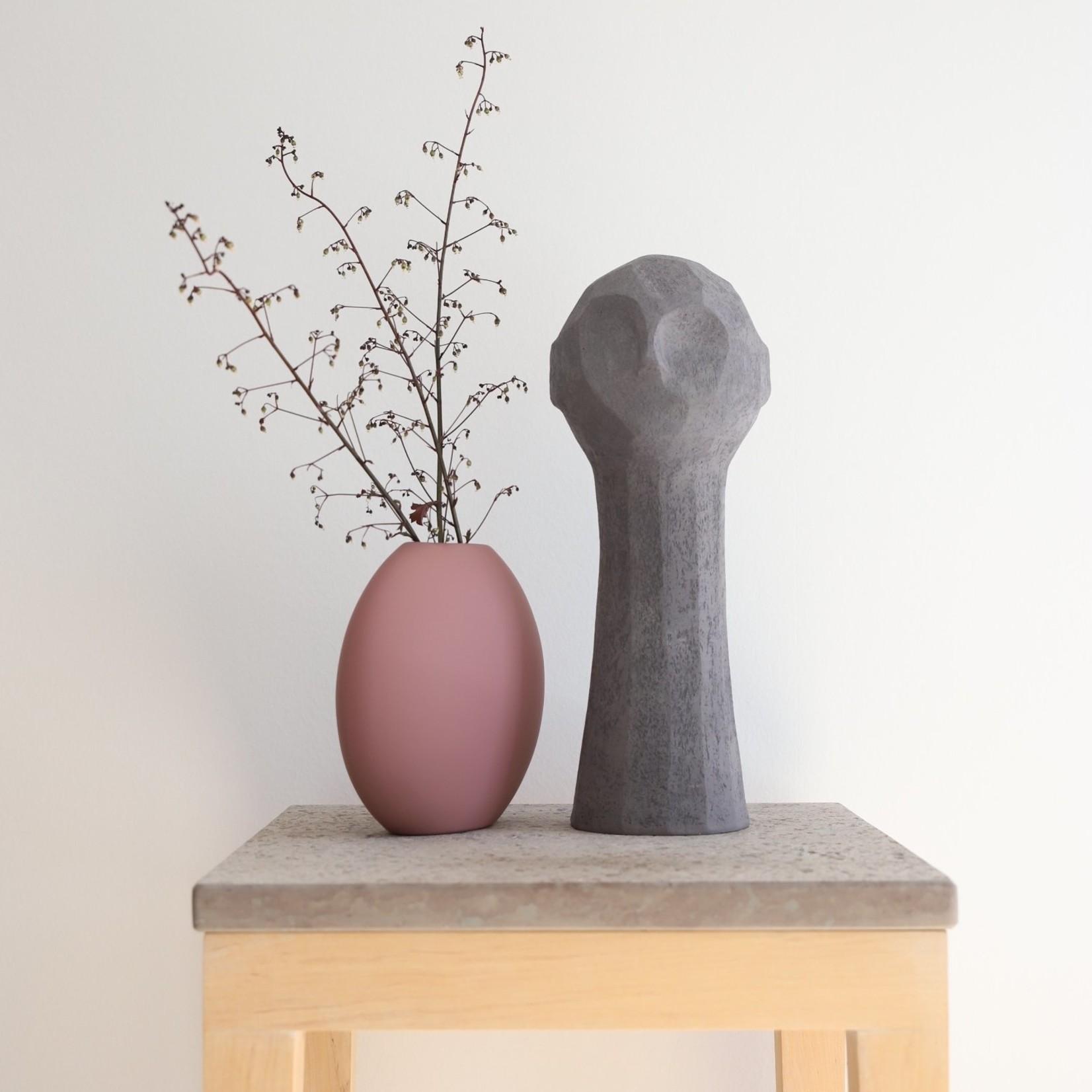Cooee Design Pastille Vase 20cm Cinder Rose