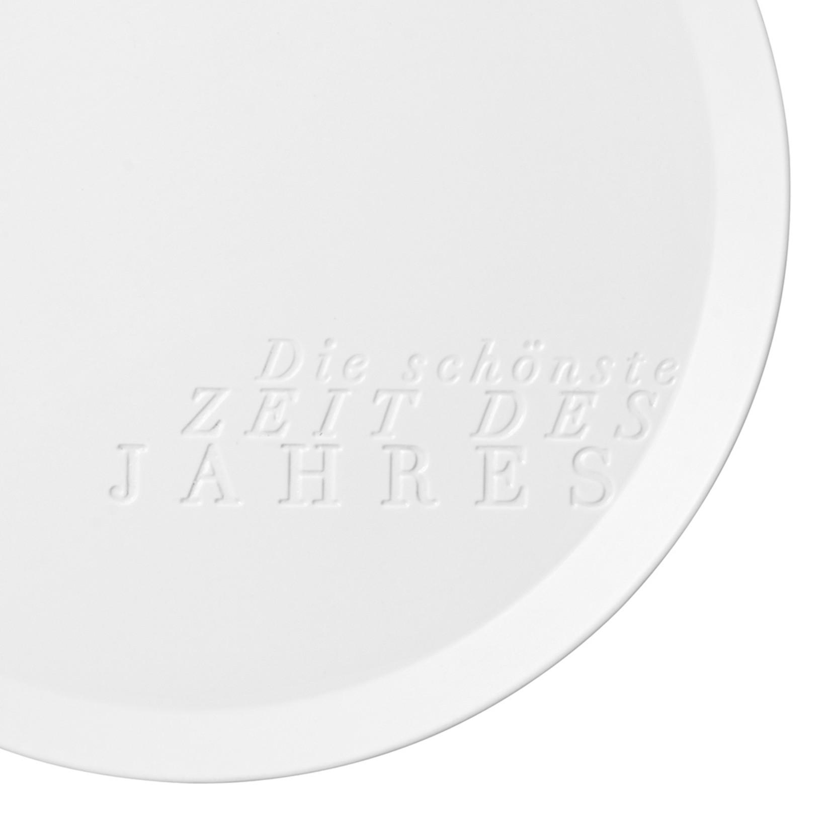Räder Design Centerpiece Teller Zeit