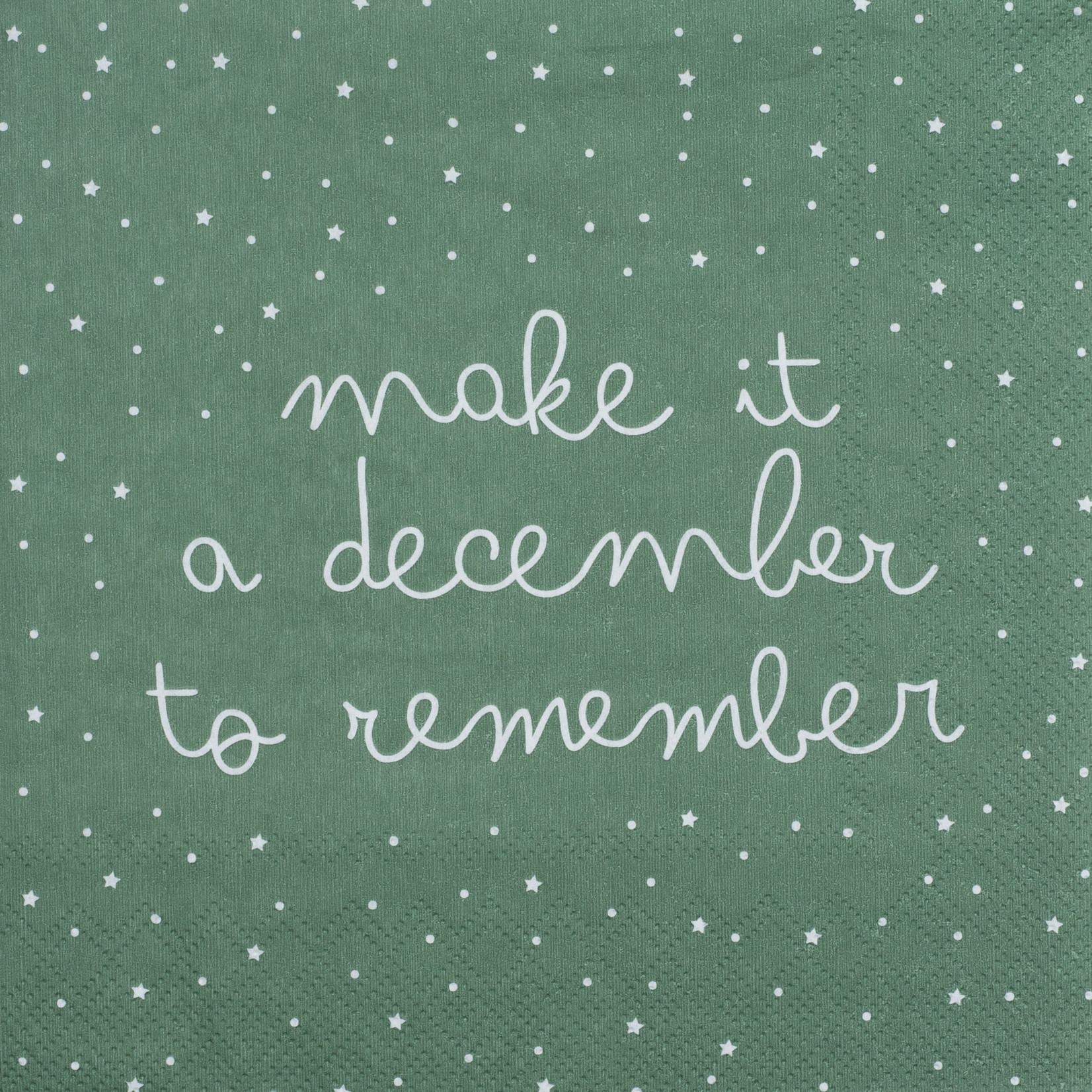 Räder Design Serviette december to remember