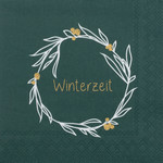 Räder Design Cocktailserviette Winterzeit