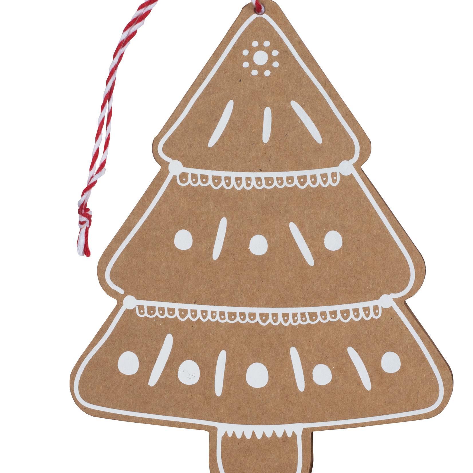 Räder Design Lebkuchenkarte Baum