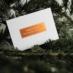 Räder Design Postkarte Merry Christmas
