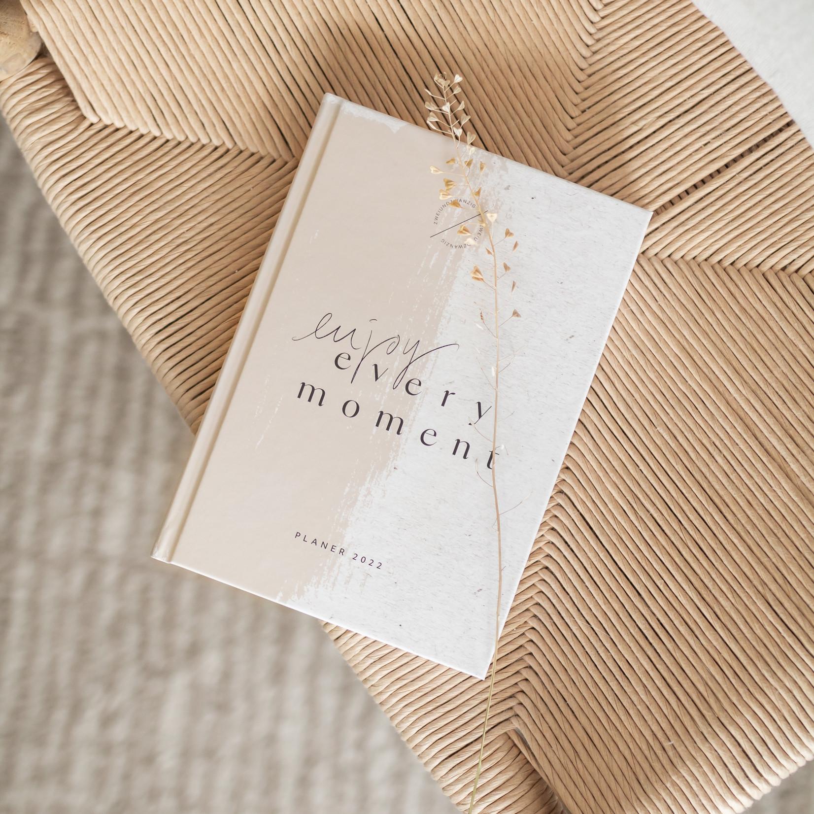 Jacqui Designs  Taschenkalender – Enjoy every moment