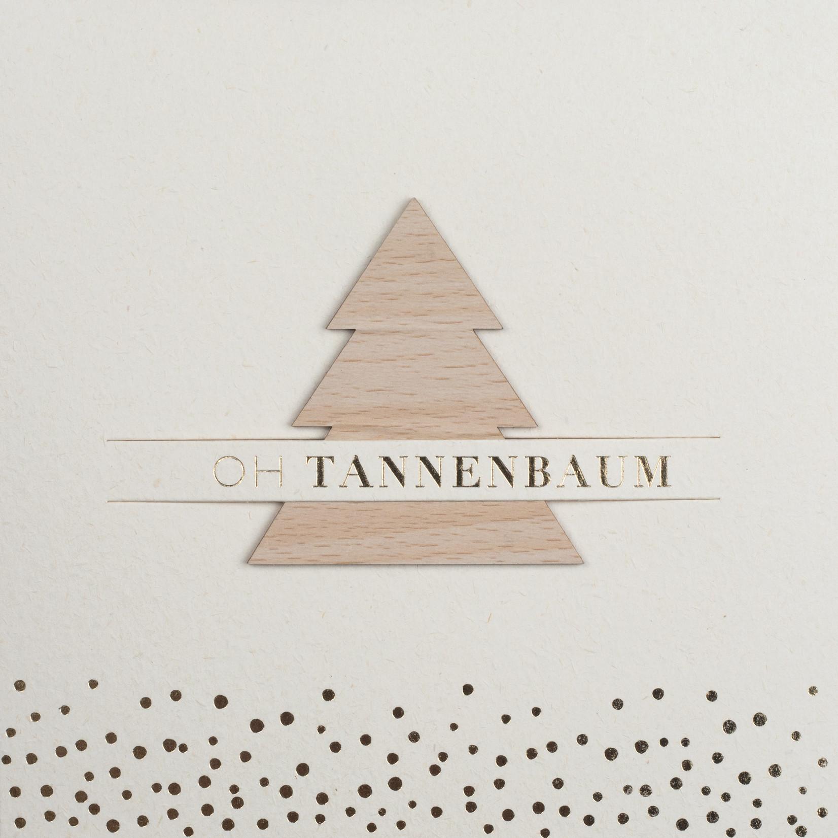 Räder Design XL Steckkarte Oh Tannenbaum