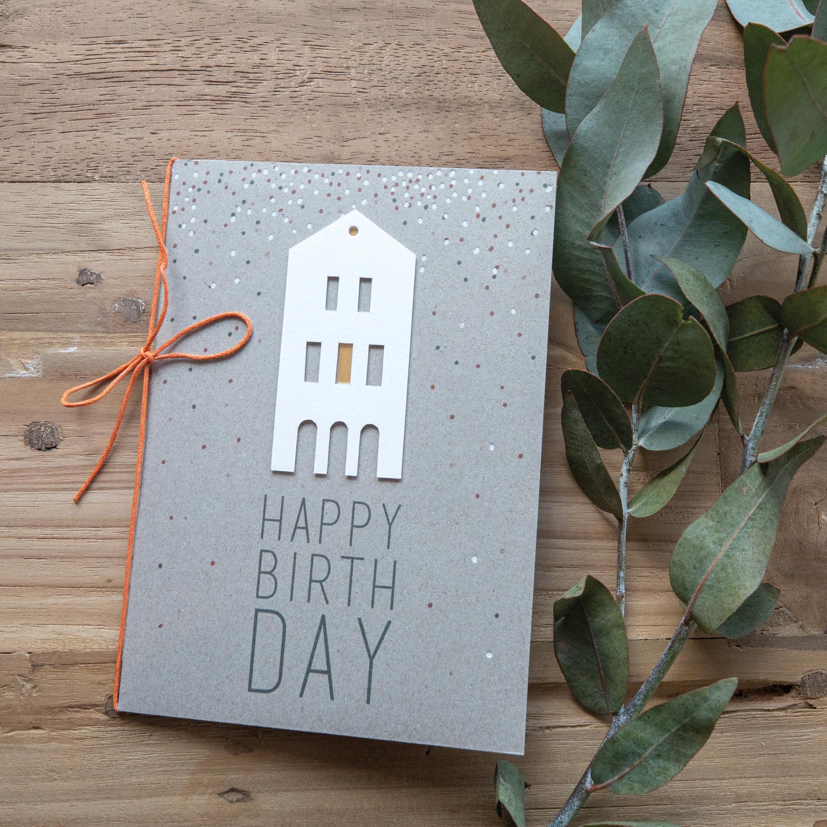 Räder Design Häuschenkarte Happy Birthday