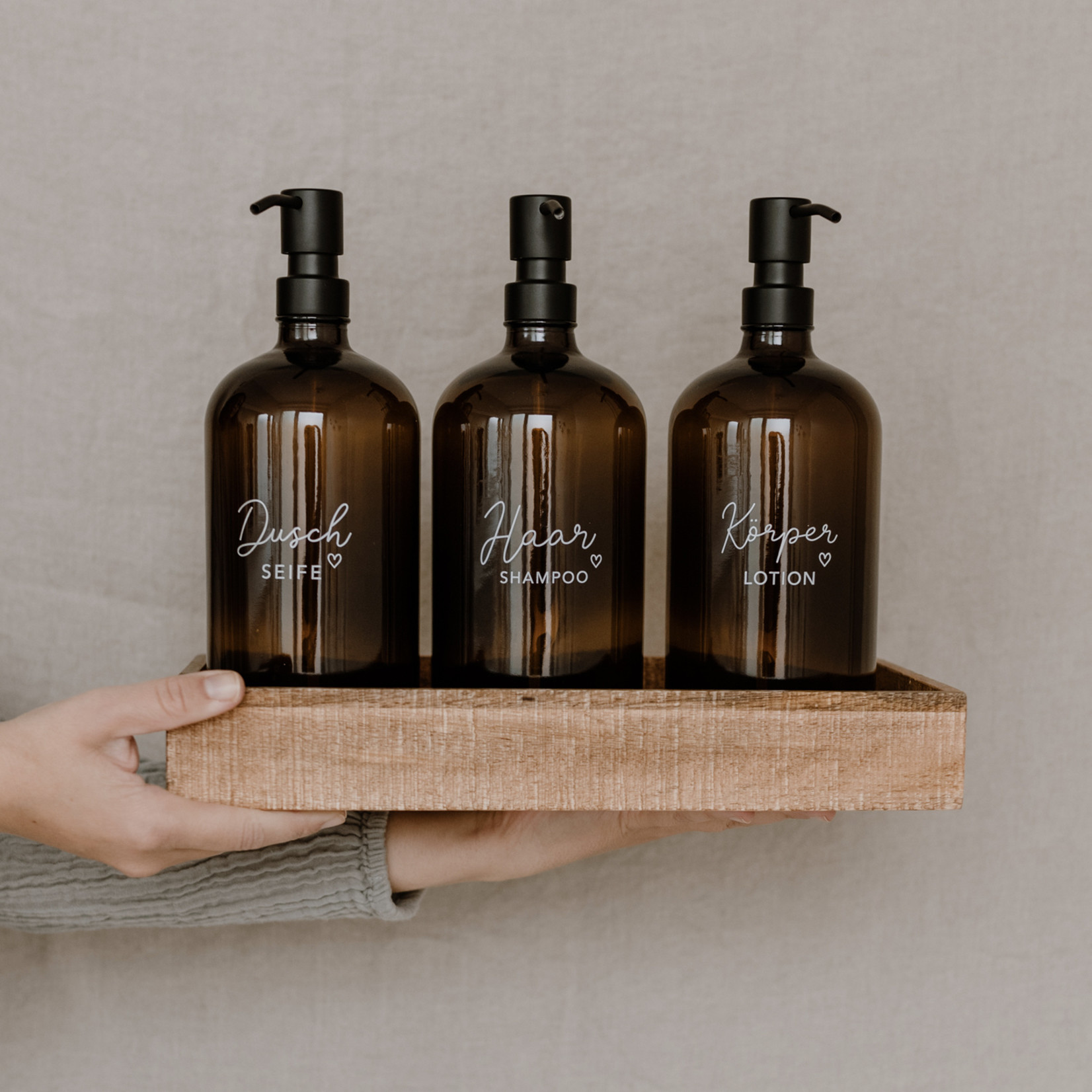 Eulenschnitt Seifenspender Haarshampoo