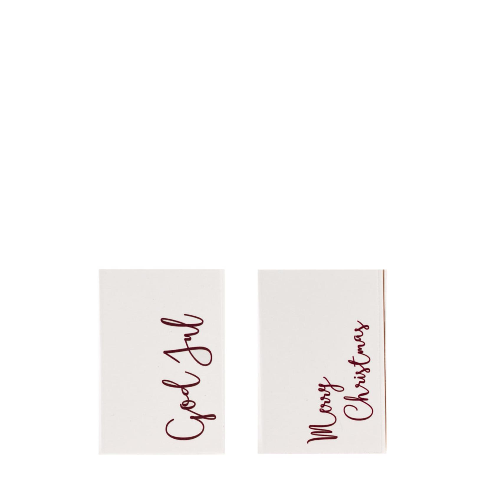 Storefactory  Matchbox God Jul White