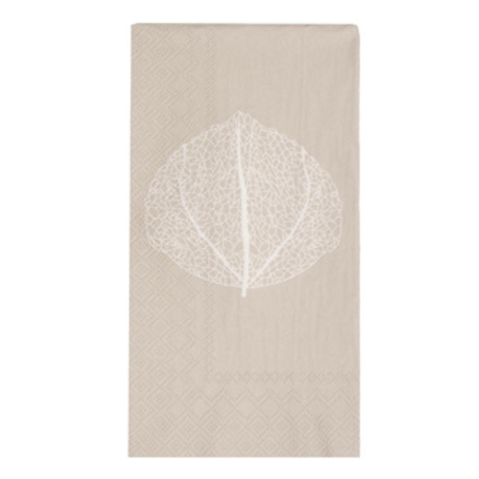 Storefactory  Serviette Bjuda beige leaf