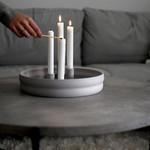 Storefactory  Kerzenständer Bolmen grau