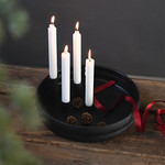 Storefactory  Kerzenständer Bolmen schwarz