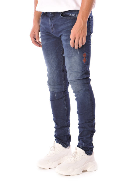 Black Bananas Don Clean Jeans - Donkerblauw