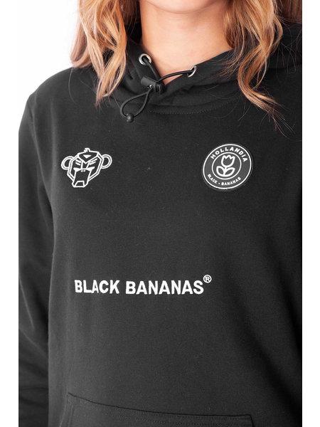 Black Bananas Black Bananas Kids F.C Fleece Hoodie - Zwart