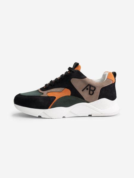 AB Lifestyle Runner Sneakers - Groen/Oranje