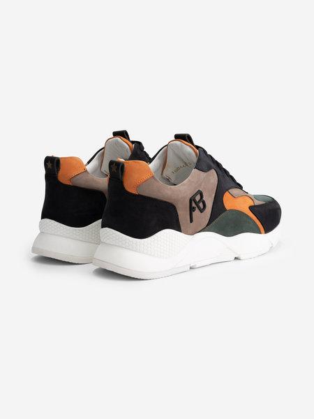 AB Lifestyle AB Lifestyle Runner Sneakers - Groen/Oranje
