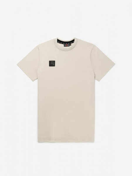 AB Lifestyle Thick Neck T-Shirt - Beige
