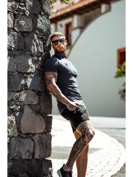 AB Lifestyle AB Lifestyle Thick Neck T-Shirt - Grijs