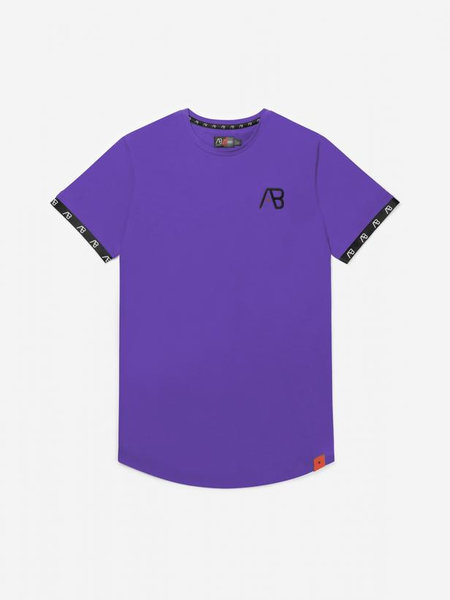 AB Lifestyle Flag T-Shirt - Paars