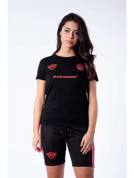 Black Bananas F.C. T-Shirt - Zwart