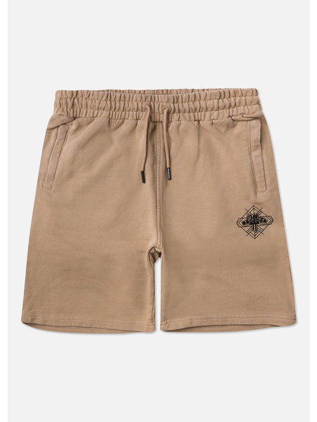 Off The Pitch Jerr Short - Taupe