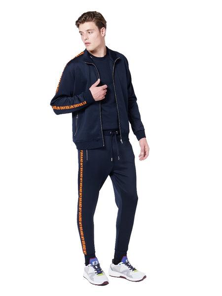 My Brand Tape Joggingpak - Blauw/Oranje