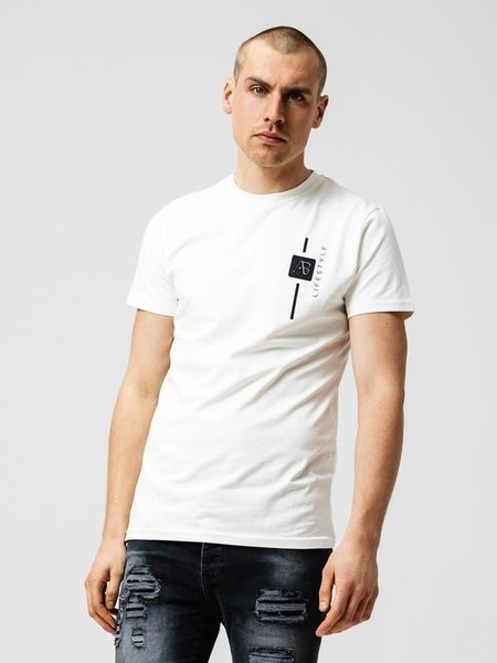 AB Lifestyle AB Lifestyle Luca T-Shirt - Ecru