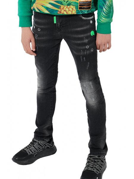 My Brand Kids Destroyed Faded Jeans - Zwart