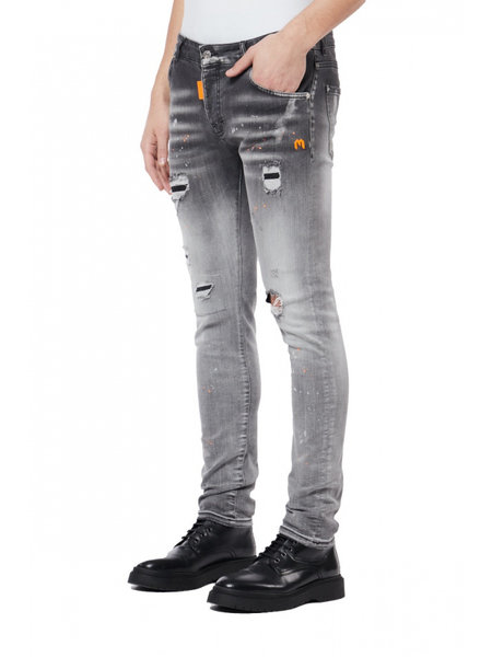 My Brand My Brand Spotted Jeans  - Grijs