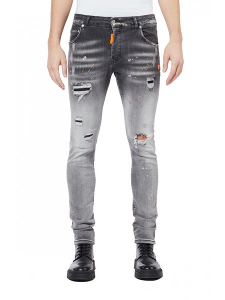 My Brand Spotted Jeans  - Grijs