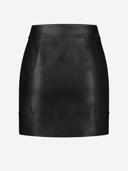 Nikkie Nikkie Mona Patch Rok - Zwart