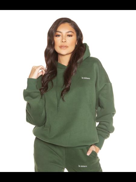 La Sisters Essential Hoodie - Groen