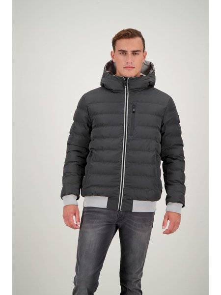 Airforce Airforce Reversible Padded Jas - Poloma Grey