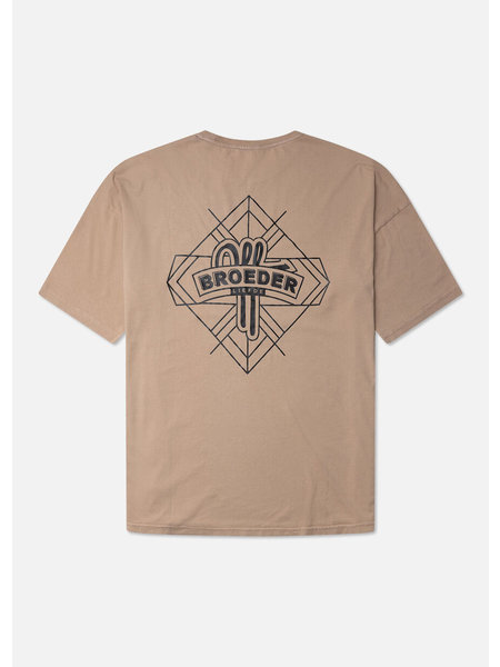 Off The Pitch Jerr T-Shirt - Taupe