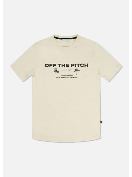 Off The Pitch The Sage T-Shirt - Creme