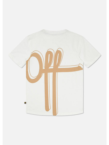 Off The Pitch The Atomic T-Shirt - Creme