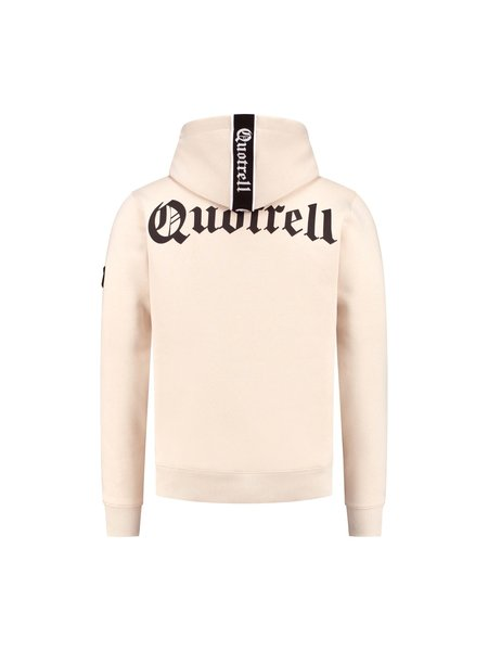 Quotrell Commodore Hoodie - Beige