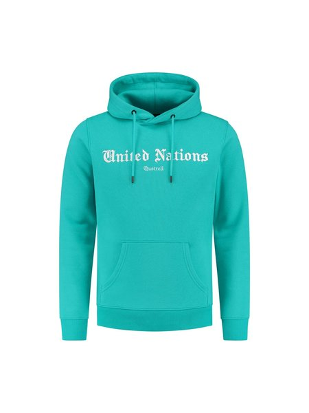 Quotrell United Nations Hoodie - Mint