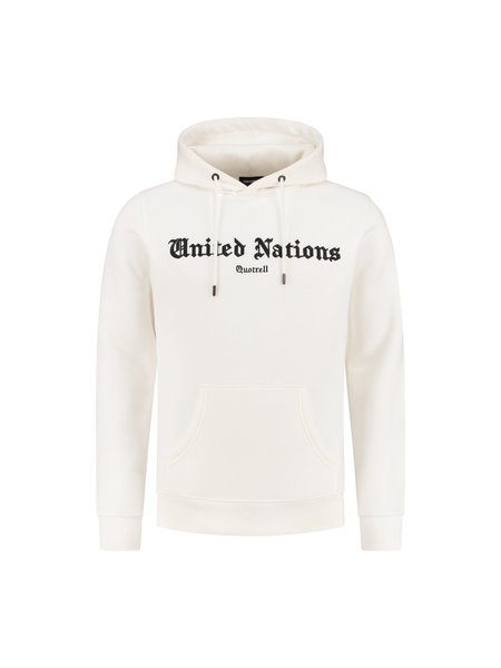 Quotrell United Nations Hoodie - Wit