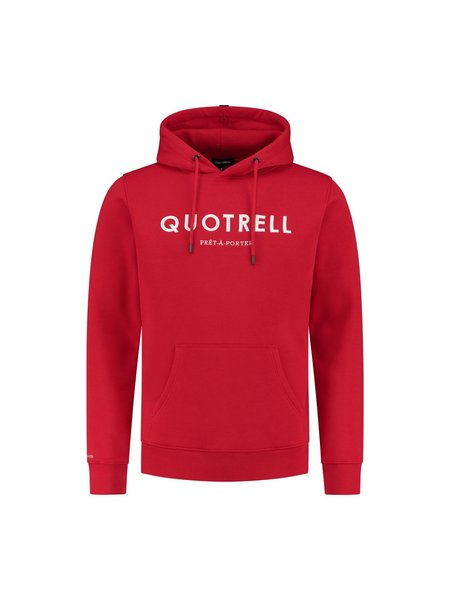 Quotrell Basic Hoodie - Rood