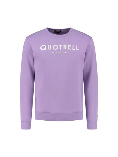 Quotrell Basic Trui - Paars