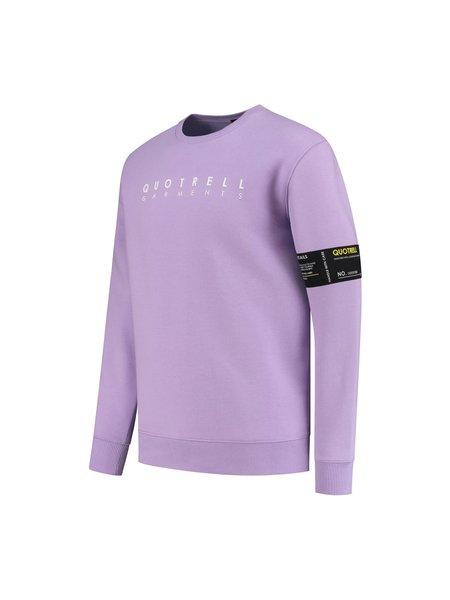Quotrell Aruba Sweater - Paars