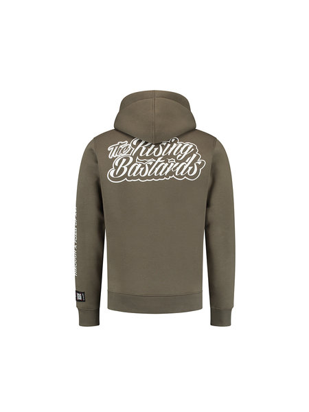 Quotrell The Rising Bastards Hoodie - Groen
